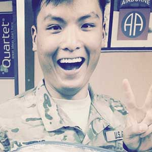 Jon Deng, US Army, Software Engineer headshot
