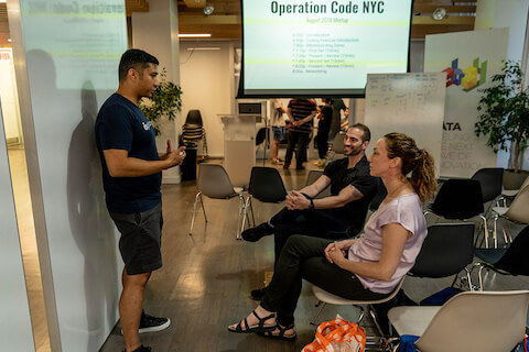 Operation Code NYC Meet-up In 2019